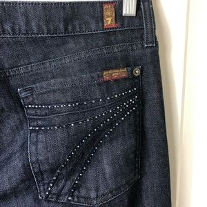 7 for all mankind DOJO jeans 32x35
